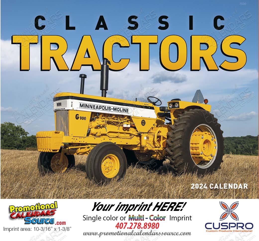 Classic Tractors Promotional Calendar 2021 Stapled