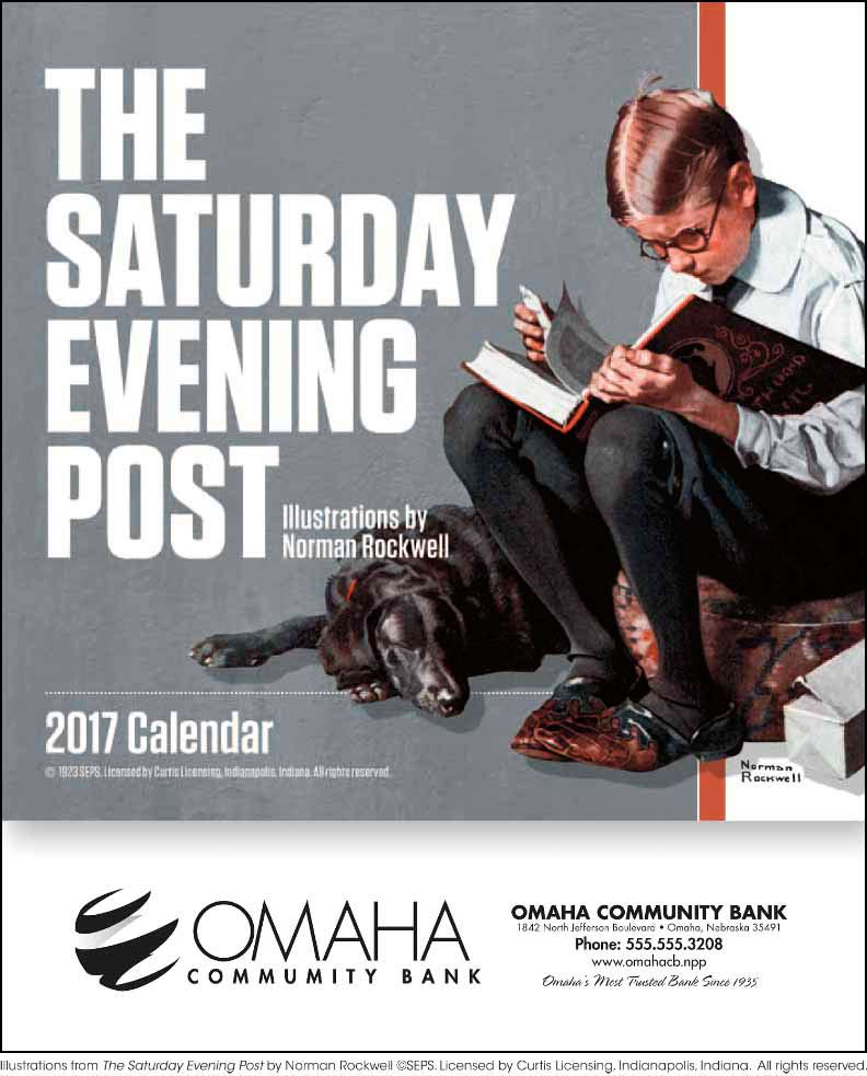 The Saturday Evening Post - Mini Promotional Calendar 2014