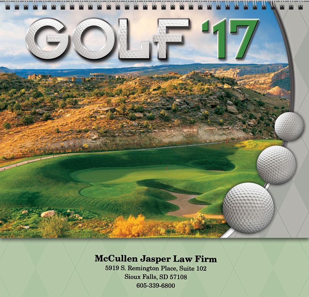 Golf calendar foto 32