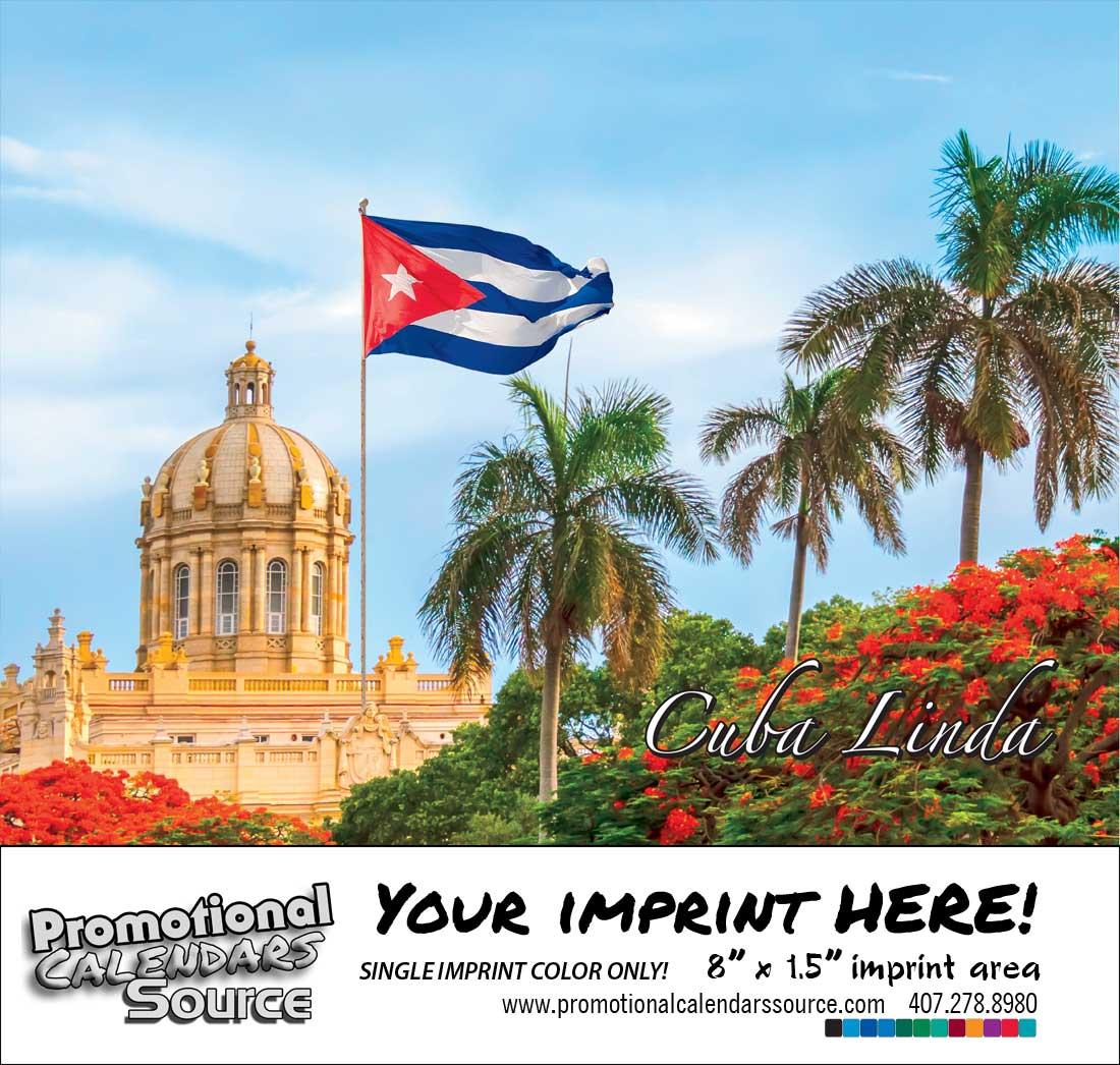Scenes of Cuba Calendar - Calendario Escenico de Cuba - Bilingual Spanish/English
