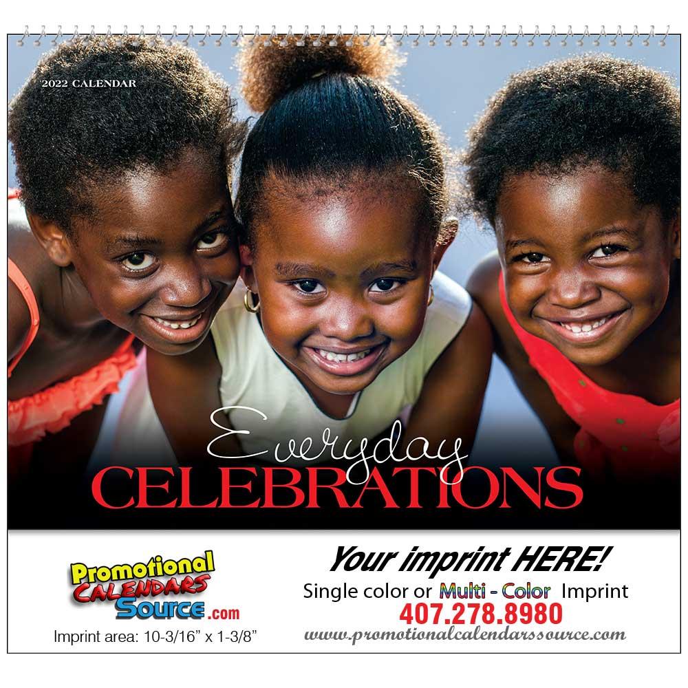 Celebration of Black Culture Promotional Calendar Spiral