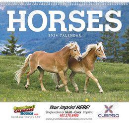 Horses Promotional Calendar 2019