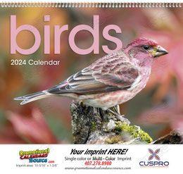 Birds Promotional Calendar 2018