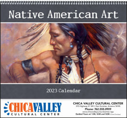 Native American Art Promotional Calendar 2018