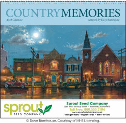 Country Memories Promotional Calendar 2019