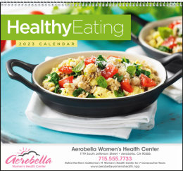 Healthy Eating Promotional Calendar 2019