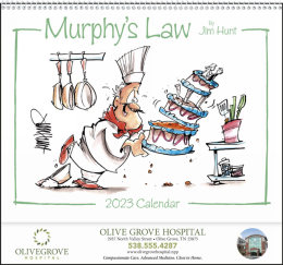 Murphys Law Promotional Calendar 2019