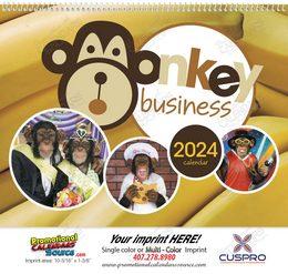 Monkey Business Promotional Calendar 2019