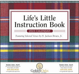 Life s Little Instruction Book Promotional Calendar 2019