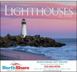 Lighthouses Promotional Calendar