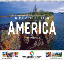 Beautiful America Promotional Calendar 2019