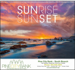 Sunrise Sunset Promotional Calendar 2019