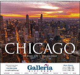 Chicago Promotional Calendar 2018