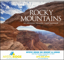 Rocky Mountains Promotional Calendar 2019