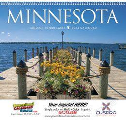 Minnesota State Promotional Calendar 2019