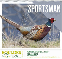 Sportsman Promotional Calendar 2019