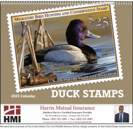 Duck Stamp Promotional Calendar 2019