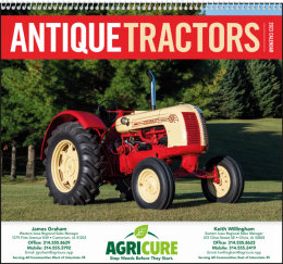 Antique Tractors Promotional Calendar