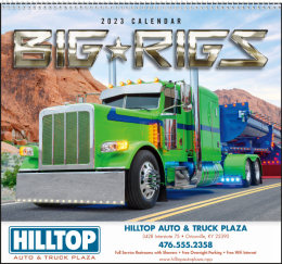 Big Rigs Promotional Calendar 2019