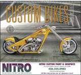Custom Bikes Promotional Calendar 2018