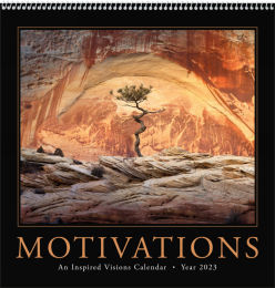 Motivations Promotional Calendar 2019, UV Coated Calendar, Size 12x25
