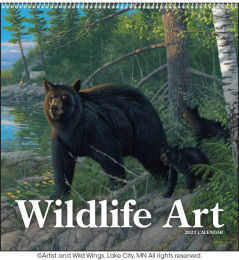 Wildlife Art Promotional Calendar