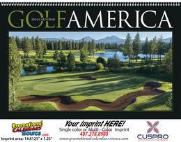 Golf America Promotional Calendar 2019