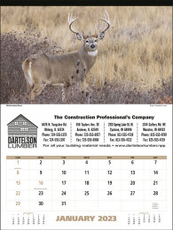 North American Wildlife Promotional Calendar 2019