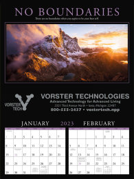 Motivations 2 Month View Promotional Calendar