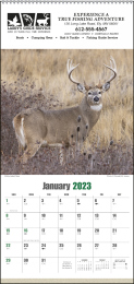 Sportsman Promotional Wall Calendar