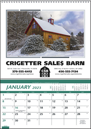 Farm Pocket Promotional Calendar 2018