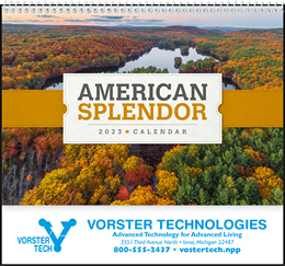 American Splendor Pocket Promotional Calendar 2019