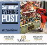 The Saturday Evening Post Pocket Promotional Calendar 2018