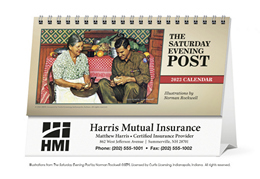 The Saturday Evening Post Promotional Desk Calendar 2019