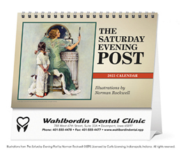 The Saturday Evening Post Large Promotional Desk Calendar 2019