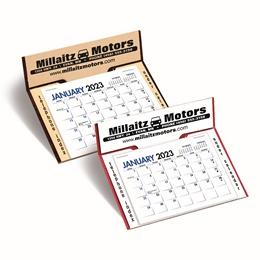 Memo Promotional Easel Desk Calendar