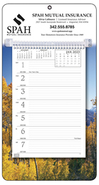 Promotional Weekly Memo Calendar  - Autumn
