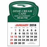 Stick-Up Calendar Coffee Cup Shape