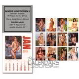Mystique Stick-Up Calendar, English , Square Shape