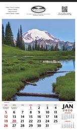 Mount Shuksan Scenic Calendar 2019 - 12x20.5