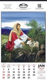 Good Shepherd Religios Theme Promotional Calendar, 2019, 12x20.5, Single Image