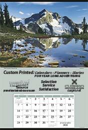 Jumbo Promotional Calendar - Yellowstone National Park