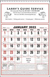 Large Almanac Commercial Calendar Size 11x17