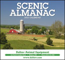 Scenic Almanac Promotional Calendar 2019