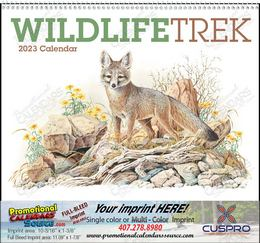 Wildlife Trek Promotional Calendar 2019 Spiral