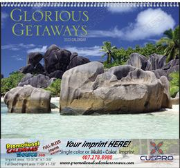 Glorious Getaways Promotional Calendar 2019 Spiral
