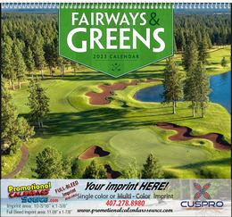 Fairways & Greens - Promotional Calendar  Spiral