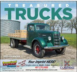 Treasured Trucks - Promotional Calendar 2019 Spiral
