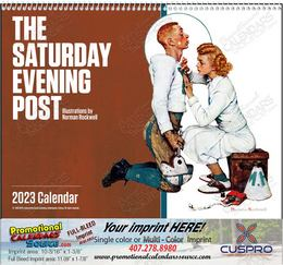 The Saturday Evening Post Promotional Calendar 2019 Spiral