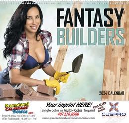 Fantasy Builders - Promotional Calendar 2019 Spiral